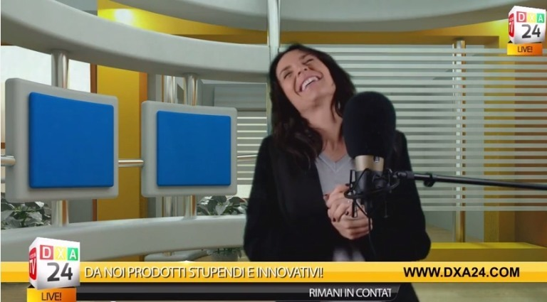 Bloopers Papere Papere Dietro Le Quinte Televendite Dxa24 Conduttrice Laura