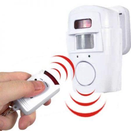 Allarme di sicurezza con sensore di movimento