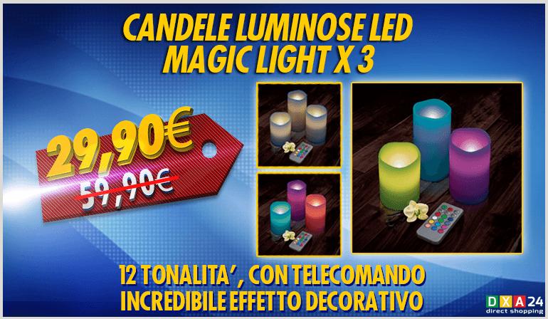 FLYER_CANDELE_LUMINOSE_LED