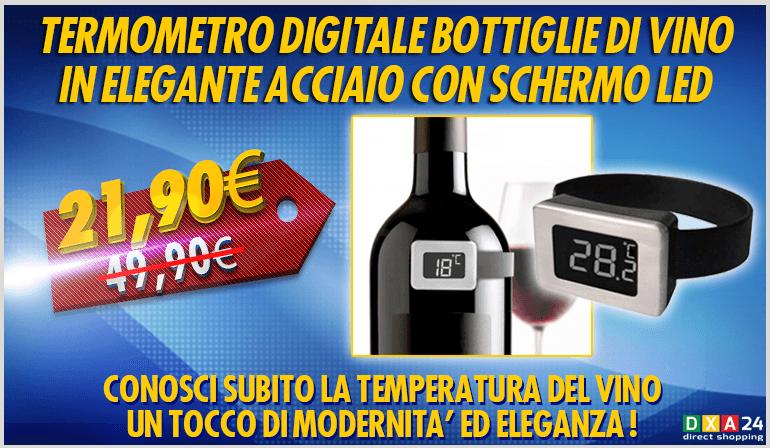 /Termometro digitale Vino BOJ Bosso/