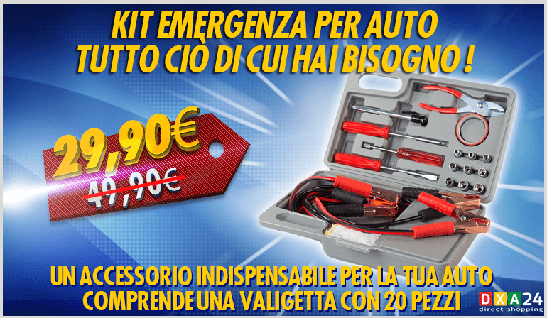 Kit Emergenza per Auto