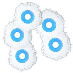 5 Testate Di Ricambio In Microfibra Ultra Assorbente