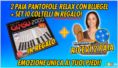 FLYER_2PANTOFOLE_EXTRA-RELAX_CON_BLUGEL_+_OMAGGIO