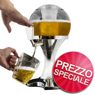 Spillatore Birra Mega Fun + Anello apribottiglie