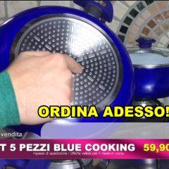 Blue Cooking Style Padelle E Pentole