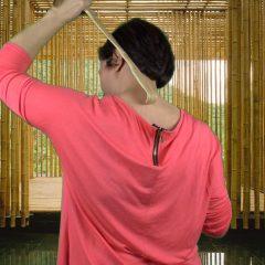 2 Gratta Schiena E Massaggio In Bambù