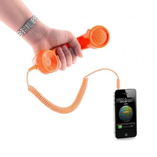 Cornetta Per Smartphone Stile Anni 80