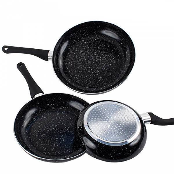 Black Cooking Style Rivestimento Pietra